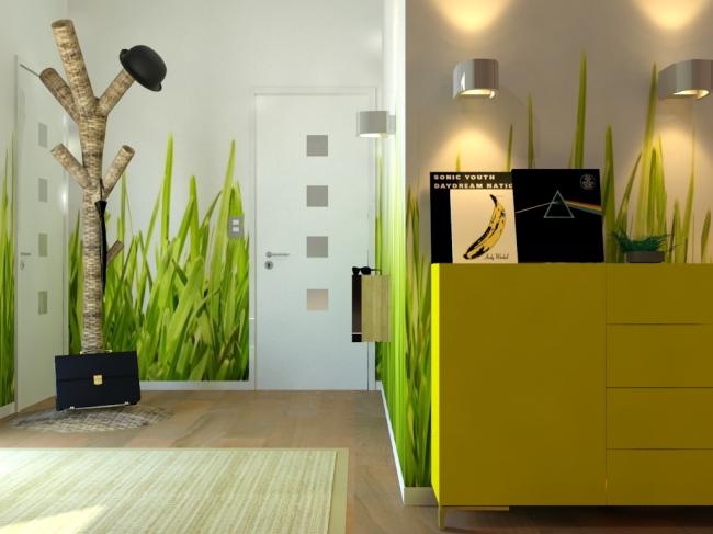 Muebles de entrada decogustora - Decoracion hall entrada ...